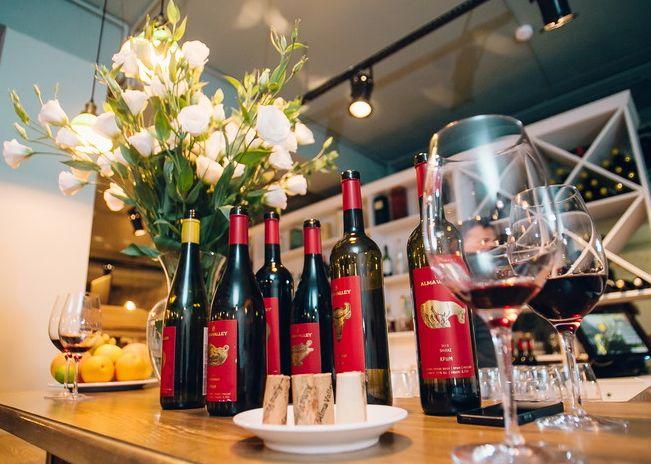 21 марта состоится дегустация вин Alma Valley в ресторане «Эрмитаж»