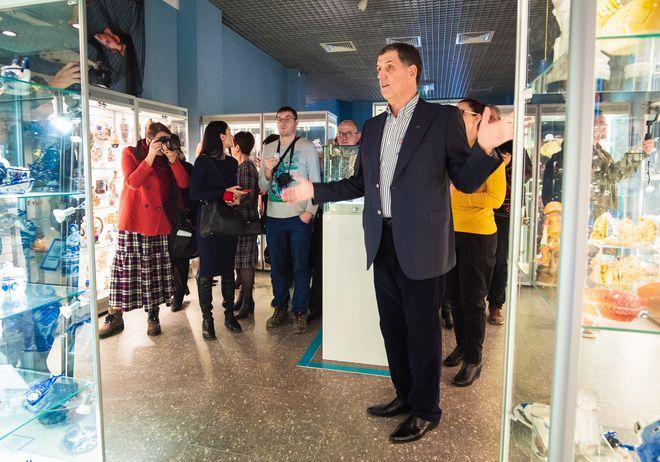15 июня Музей Рыбы и Рыболовства приглашает на авторскую экскурсию Михаила Куманцова