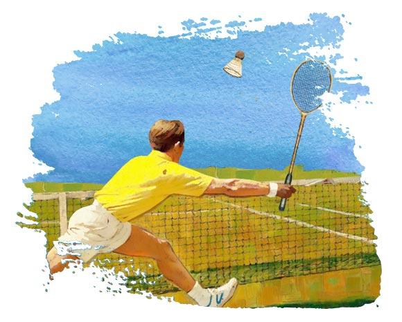 Прокат спортивного инвентаря для игры в бадминтон