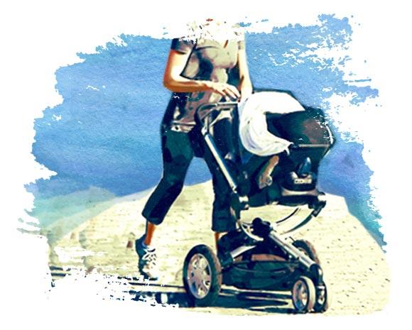 Прокат детской коляски