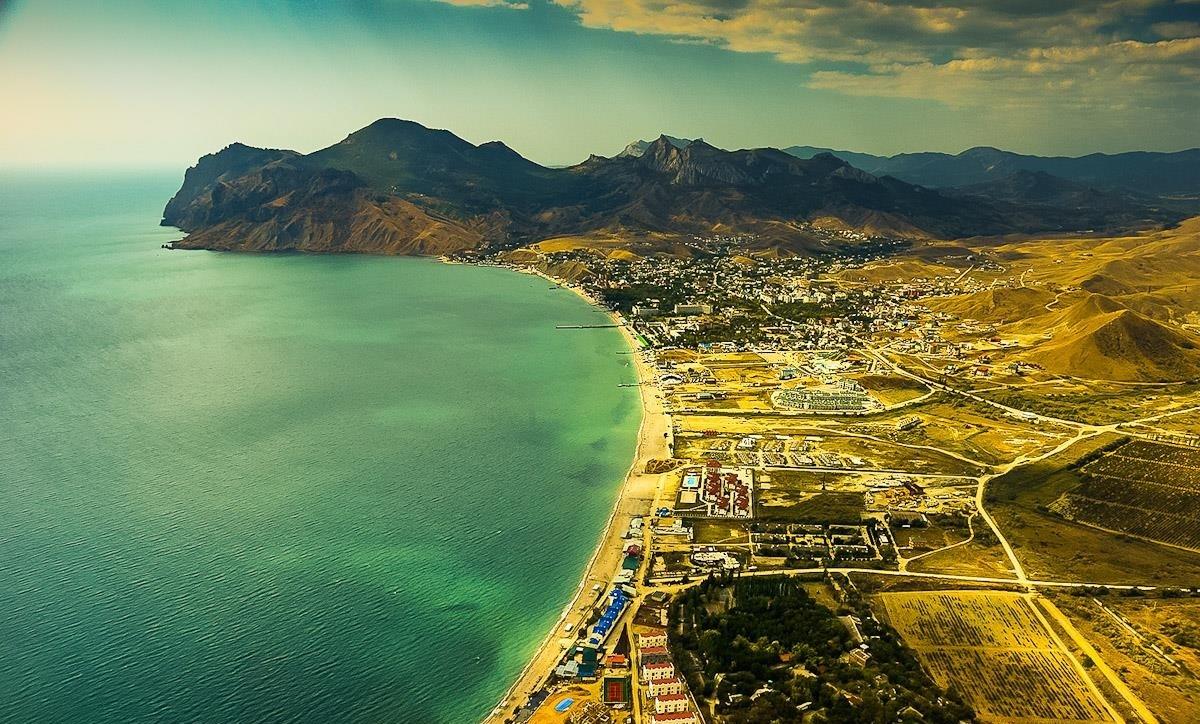 индивидуальные маршруты по восточному Крыму для активного отдыха Коктебель