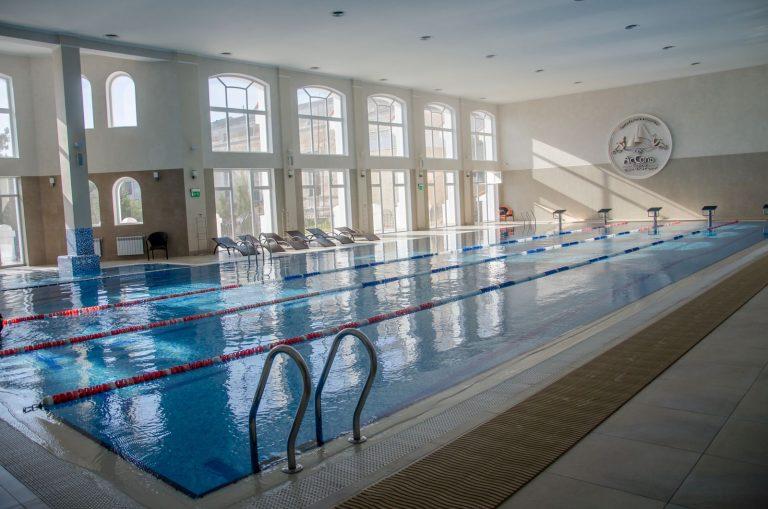 крытый бассейн спа центр ассоль