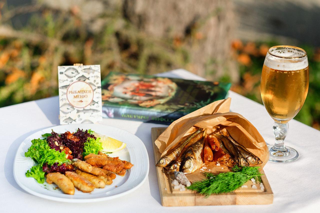 «Рыбацкое меню» в ресторане «Эрмитаж»